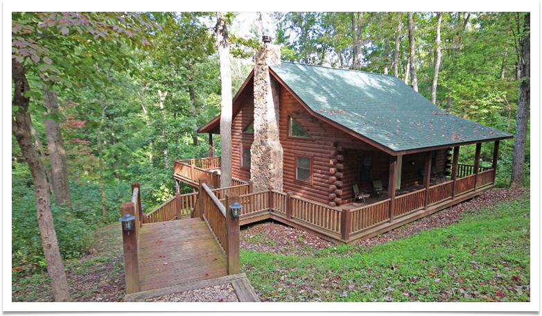 Hunters Retreat Cabin located in Hocking Hills, Ohio