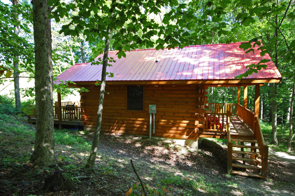 Piccolo Cabin Hocking Hills Serenity Cabins Hocking